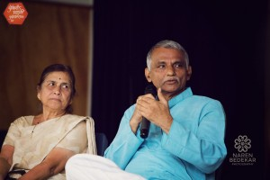 Evening with Dr. Prakash Amte and Dr. Mandakini Amte